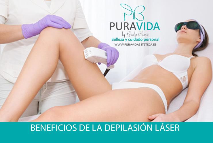 Beneficios de la depilación láser...